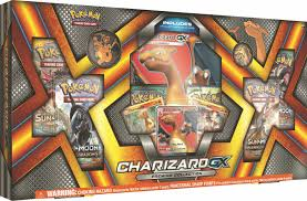Pokemon CHARIZARD GX PREMIUM COLLECTION Box Sun & Moon Burning ...