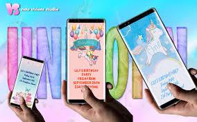 Invitacion De Cumpleanos Unicornio For Android Apk Download