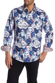 Robert Graham | Cave Creek Long Sleeve Classic Fit Woven Shirt | Nordstrom  Rack