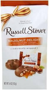 russell stover hazelnut delight 5 4