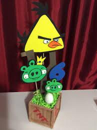 Angry Birds Centerpiece Yellow 7 Manualidades Decoracion De