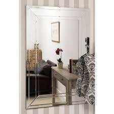 mirror langley frameless mirror