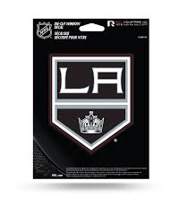 Los Angeles Kings Window Medium Decal Sticker The 4th Quarter