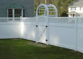 Vinyl Fences Boston Ma Commercial Residential Contractor Fencing Sales Installation