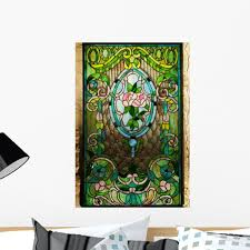Beautiful Stained Glass Window Wall Mural Decal By Wallmonkeys Vinyl Peel And Stick Graphic 24 In H X 17 In W Walmart Com Walmart Com