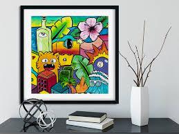 A3 Poster Kid Room Decor Pop Art Style Fine Art Print Etsy