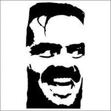 The Shining Jack Nicholson Vinyl Decal Sticker 2 Two Pack Ebay