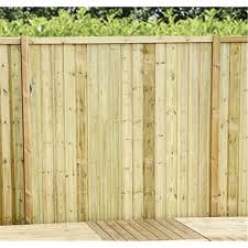 5ft Vertical Pressure Treated 12mm Tongue Groove Fence Panel 1 Panel Only Min Order 3 Panels Free Delivery