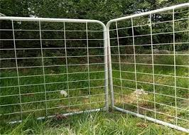 1170mm Height I Stay Farm Fence Gate With 5mm Galvanized Wire Diameter For United States
