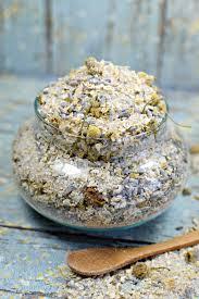 chamomile lavender oatmeal bath soak