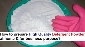 detergent powder making process 100