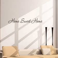 Fashion Design Diy Letter Quote Home Sweet Home Wall Stickers Home Decoration Art Mural Decal Jul5 Stickers Home Decor Designer Wall Stickerswall Sticker Aliexpress