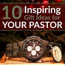 10 inspiring gift ideas for your pastor
