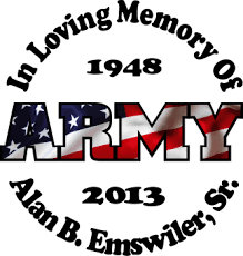 Army Full Color Flag Full Color Printed Stickers In Loving Memory Car Window Decals