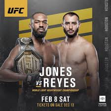Jon Jones vs. Dominick Reyes – Preview ...