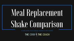 meal replacement shake parison an