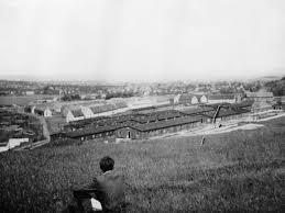 Jonas Mekas | Kassel/Mattenberg, myself overlooking the D.P. Camp ...
