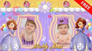 Invitacion Animada Feliz Cumpleanos Princesa Sofia Para Whatsapp