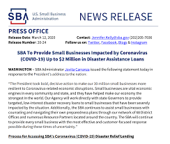 Release for Small Businesses Impacted ...