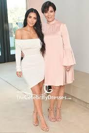 kim kardashian white off the shoulder