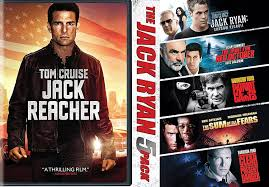 Amazon.com: Jack Reacher DVD + Jack Ryan Collection Pack Movie ...
