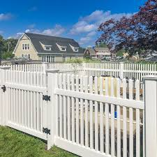 Classic Victorian Straight Top Picket Fence Illusions Fence