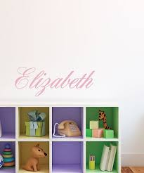 Sissy Little Pink Personalized Cursive Name Wall Decal Best Price And Reviews Zulily