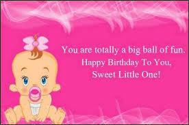 the cute birthday wishes for baby girl wishesgreeting