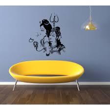 Shop Shiva The Auspicious Mahadeva Great God Man And Woman Wall Art Sticker Decal Overstock 11372298
