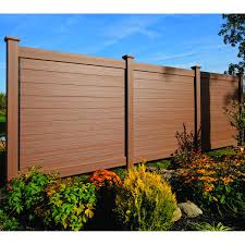 Bufftech Brookline Certagrain Vinyl Fence Panels Hoover Fence Co
