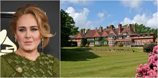 Adele's former country manor house in West Sussex is now up for sale