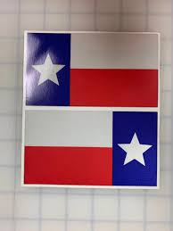 5 Texas Flag 3m Reflective Stickers X2 Decal Usa Police Fire Emergency Acerbographix