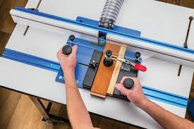 Rockler Introduces Rail Coping Sled Holds Stock Securely For Clean Square Machining Of Cabinet Door Rails