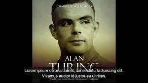 Biografia de Alan Turing por Alahin - YouTube
