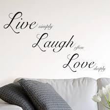 Ebern Designs Live Laugh Love Wall Decal Reviews Wayfair