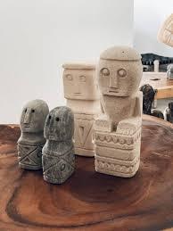 Trouva: Maun Kik Ida Stone Statue Set Of 2