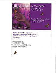 Book sign - Book sign is with Myrtle D Russell and Mia B...   Facebook