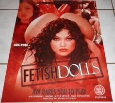 AVA ROSE Rare FETISH DOLLS Poster! AVN | eBay