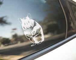 Rodent Decal Etsy