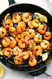 Honey Garlic Butter Shrimp Recipe ...