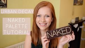 makeup tutorial urban decay
