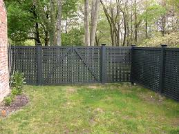 Blooming New York Lattice Fence Designs Traditional Patio Entry Gate Garden Wood Water Feature Fencing Gates Brick Exterior