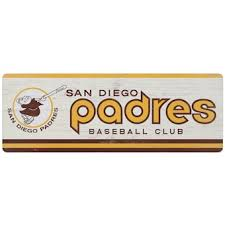Official San Diego Padres Wall Decorations Padres Signs Posters Tavern Signs Mlbshop Com