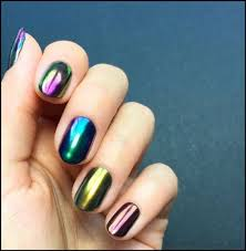 Pin by Adeline Howell on Nails   Chrome nail polish, Chrome nails, Chrome  nail powder
