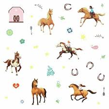 Spirit Riding Free Peel And Stick Wall Decals Roommates Target