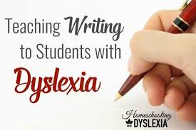 teaching writing to the dyslexic