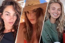 secret models without makeup