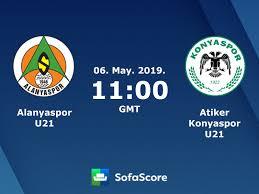 Alanyaspor U21 Atiker Konyaspor U21 live score, video stream and ...