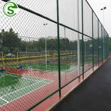 China Galvanized And Pvc Coated Football Field Fence Home Basketball Court Fence China Sports Ground Fence Cost Sports Fencing Prices