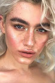 how to fake freckles with makeup faux